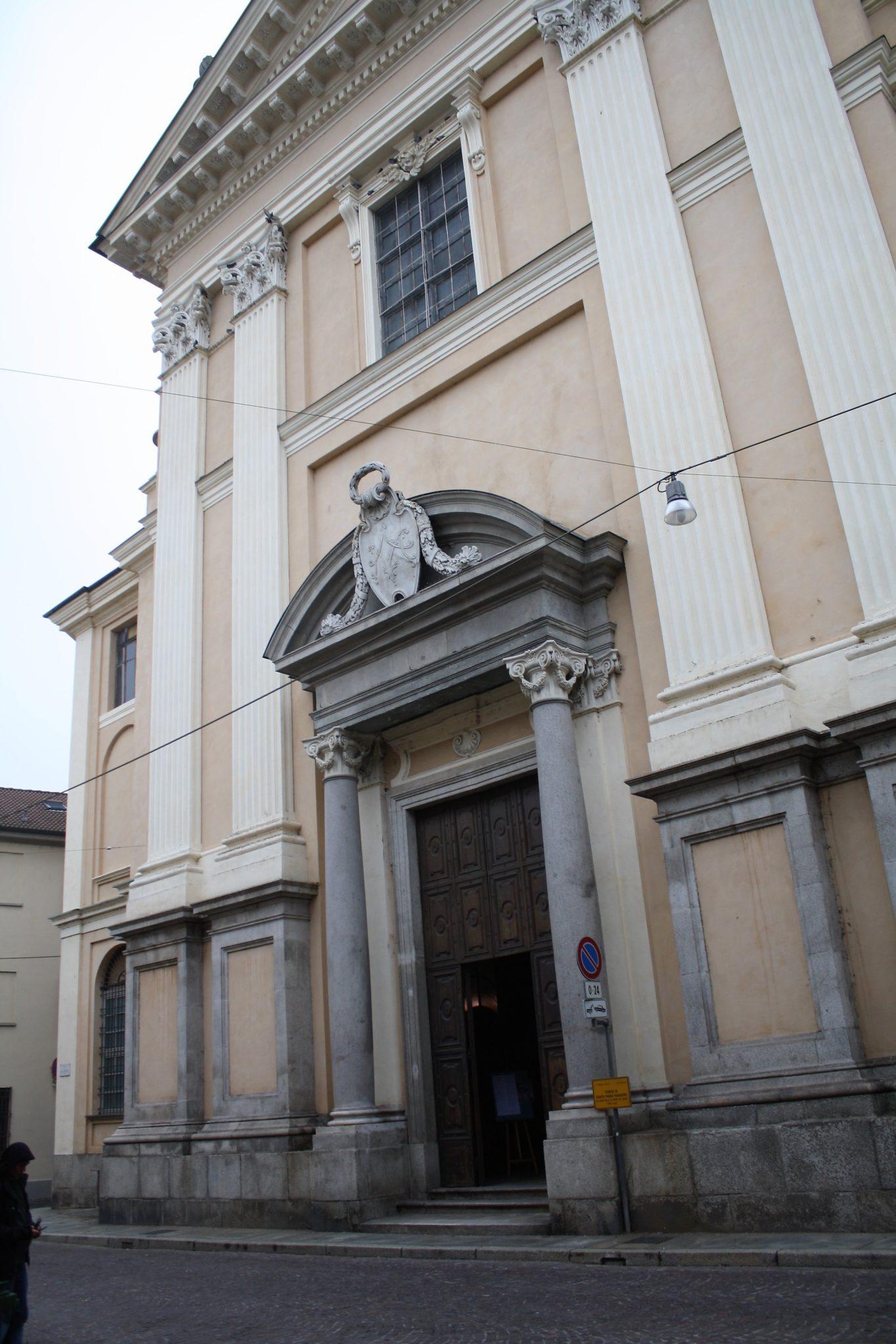 CHIESA DI SANTA MARIA MAGGIORE già CHIESA DELLA SS. TRINITA' DEI GESUITI